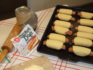 Vegie Pigs in a Blanket!